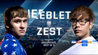 Blizzcon - Neeb vs Zest - bo3 - Starcraft 2 HD