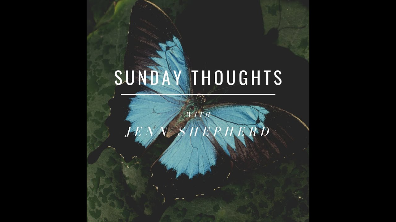 Sunday Thoughts: What does it mean to let go and let God?