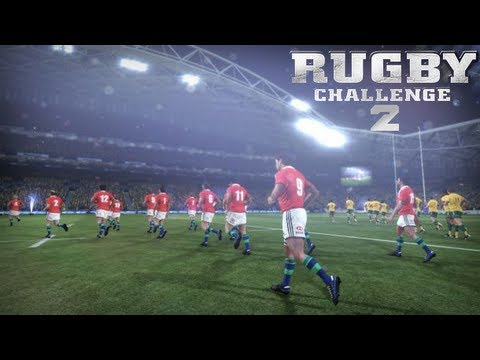 Rugby Challenge 2 Lions Tour - First Details