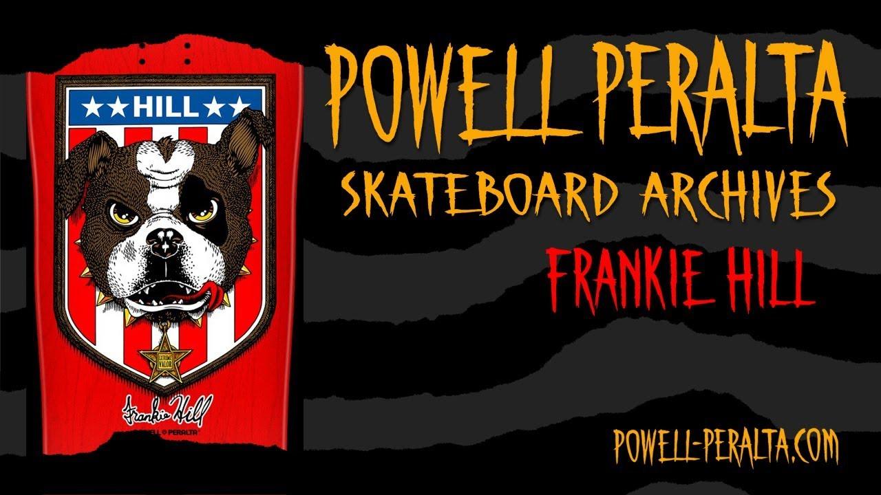 Details about  /Frankie Hill Powell Peralta Bones Brigade Bulldog Original Vintage Skateboard