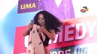 Alex Muhangi Comedy Store Dec 2018 - Sheebah Karungi (Omwooyo)