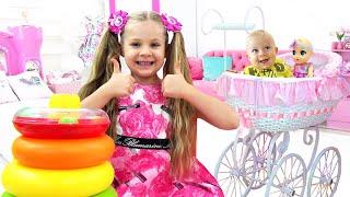 Diana dan Ayah Cerita tentang mainan untuk anak-anak