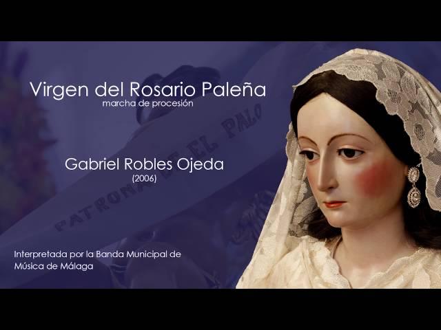 Virgen del Rosario Paleña (Gabriel Robles)
