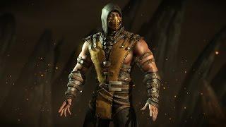 Mortal Kombat X - Скорпион Инферно Гайд + Комбо Урок