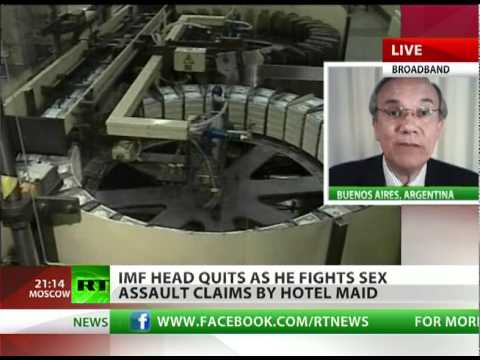 Strauss-Kahn victim of 'dollar lobby'?