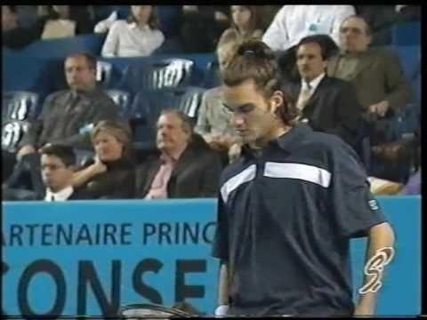 Marseille 2000 Final - Rosset vs Federer