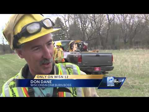 DNR does prescribed burns to prevent future wildfires