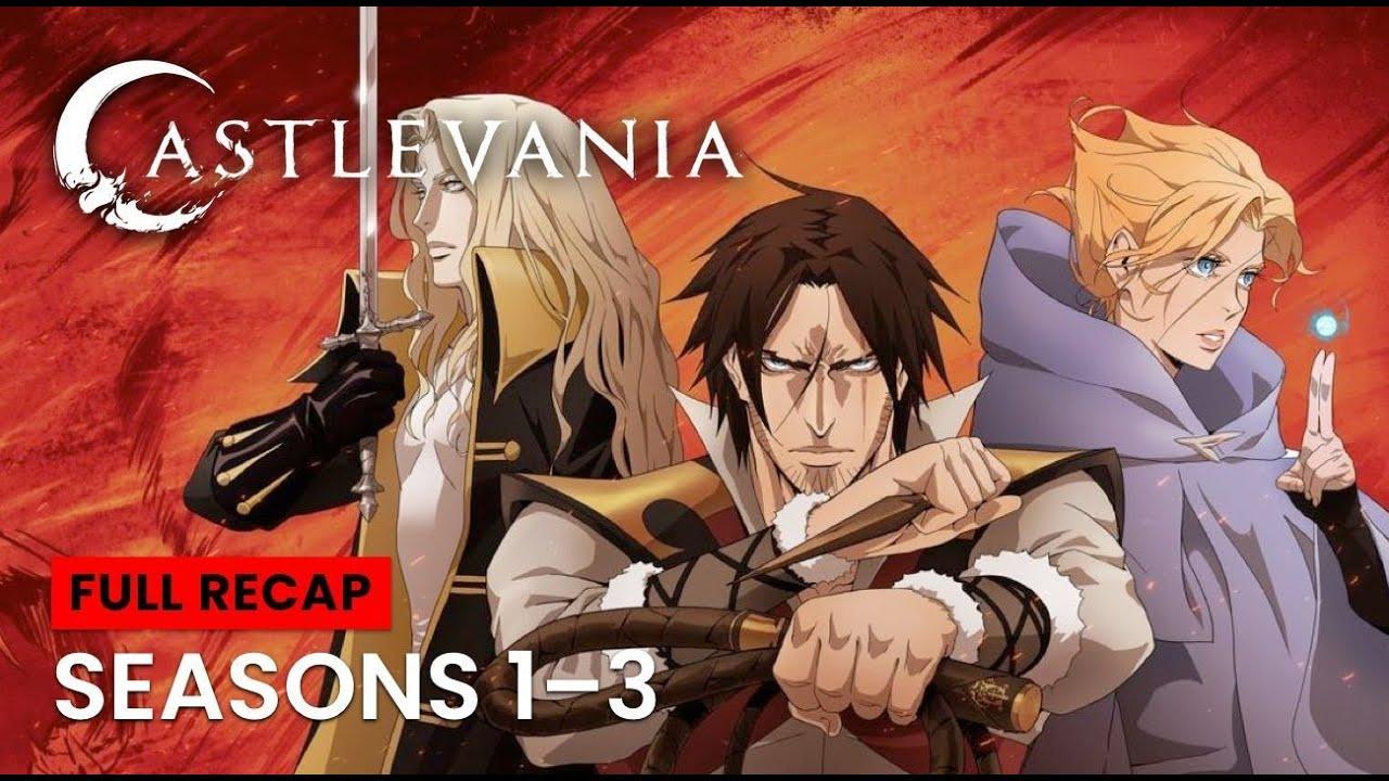 Download Castlevania Seasons 1 - 3 Recap   Netflix