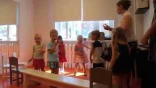 Открытый урок в детском саду. Детский клуб «Облака», г. Подольск