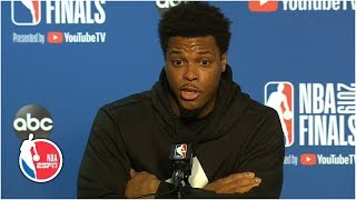 Kyle Lowry sounds off on Warriors' minority owner who pushed him in Game 3 | 2019 NBA Finals