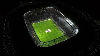 Le Groupama Stadium vu du ciel | Olympique Lyonnais