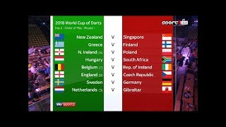 PDC World Cup of Darts 2018 06 01 - Hungary v South Africa - HUN