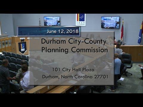 Durham Planning Commission June 12, 2018