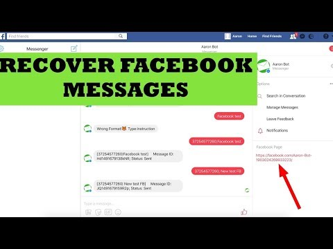 How To Recover Deleted Messages On Facebook 2019