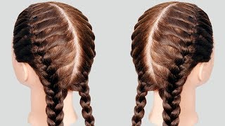 How to do French Braid Hairstyle tutorial 2019 || Easy Hairstyle for Long Hair 2019