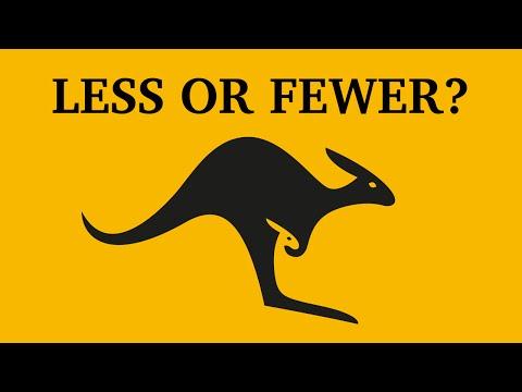 Less or fewer? | Learn English | Canguro English