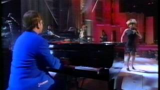 "Elton John with Tina Turner -""The Bitch is Back"" VH1 Fashion Awards 1995"