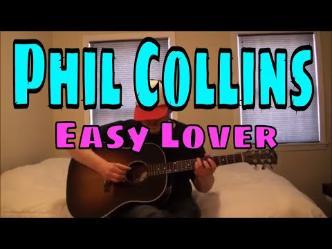 Phil Collins - Easy Lover - Fingerpicking Guitar Cover