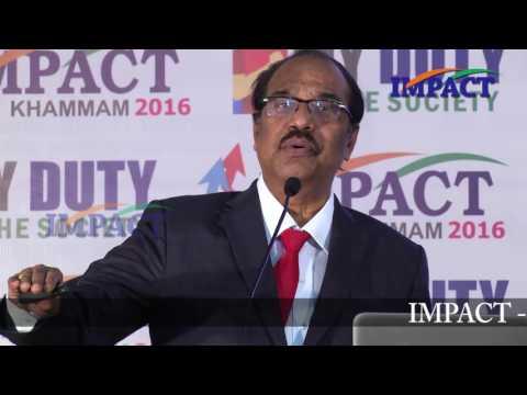 MIND TRAPS by Dr  BV Pattabhiram at IMPACT Khammam 2016