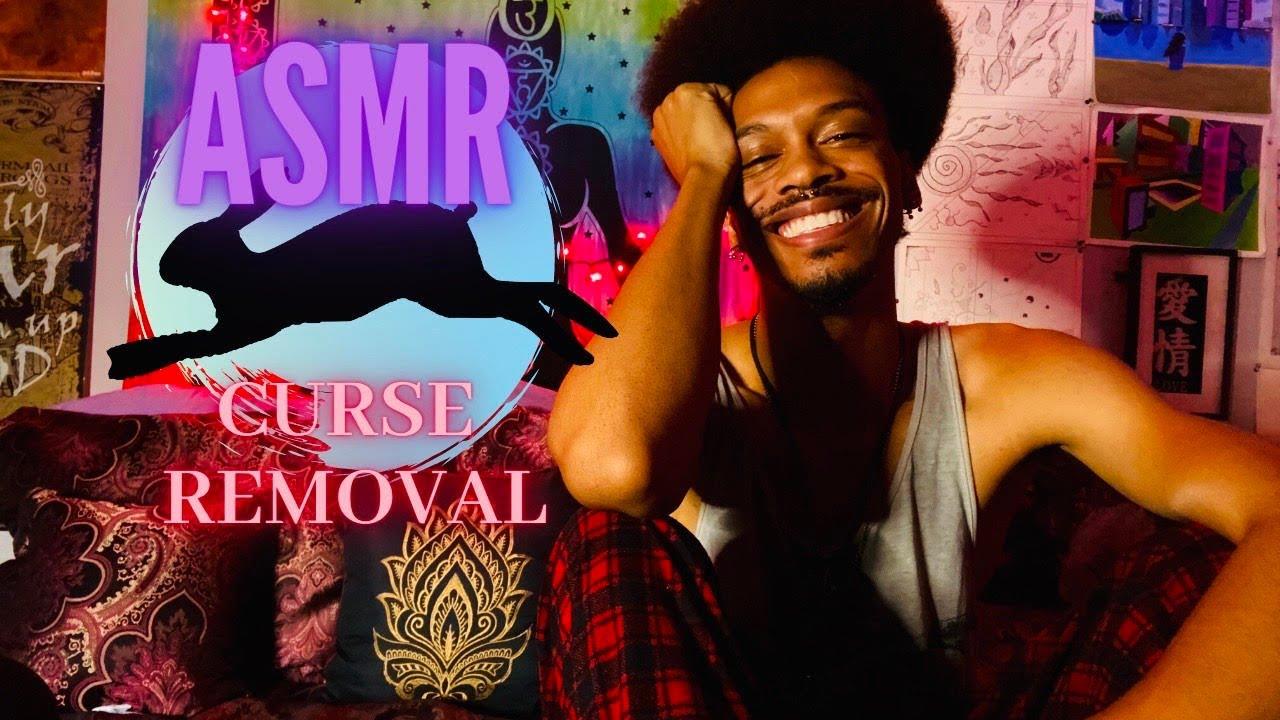 ASMR Curse Removal🥀🕯🥀(Hand Movements, Finger Flutters, etc.)