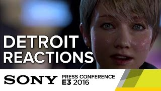 Detroit: Become Human Reactions - E3 2016