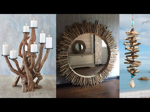 Driftwood Crafting Ideas. DIY with Driftwood, Design and Decoration.