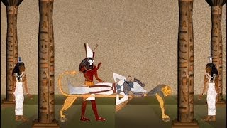 Osiris Horus and Isis - Legend of the Pharaoh
