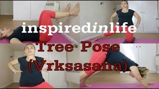 How To: Tree Pose (Vrksasana) I Yoga Tutorial Video
