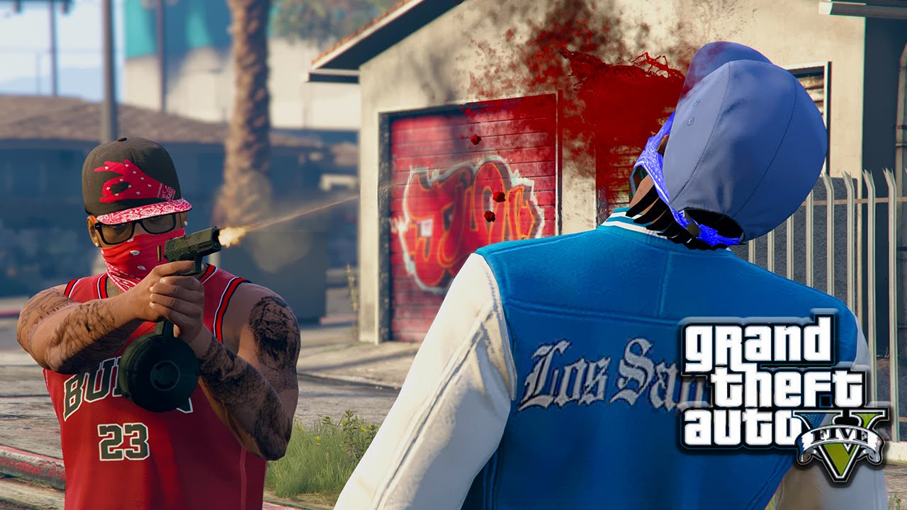 GTA 5 | BLOODS VS CRIPS EP. 19 [HQ] - YouTube
