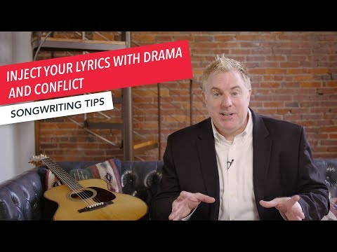 Quick Songwriting Tips: Inject Your Lyrics with Drama and Conflict  | Tip 6/8 | Berklee Online