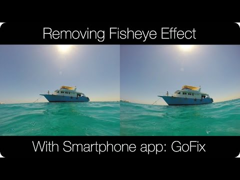 how to avoid fish eye effect