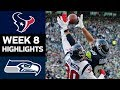 Texans vs. Seahawks | NFL Week 8 Game Highlights