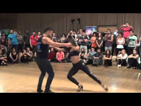 Sexy Bachata with Jorge Contreras and Aubrey at PBF 2015