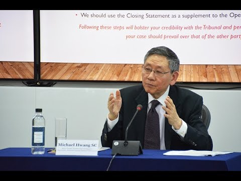 Seoul IDRC 25th Lecture Series [31 May 2017] - Michael Hwang SC Part 2. Q&A