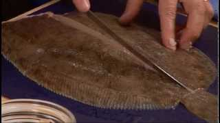 How to fillet flat fish - GoodFood.com - BBC Food