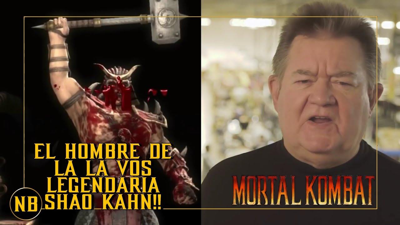 MORTAL KOMBAT | El Hombre  tras la vos del legendario shao Kahn