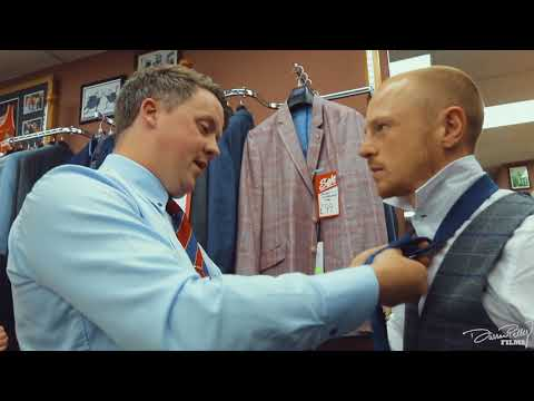 Luke Jackson Official World Title Fight Press Conference Suit