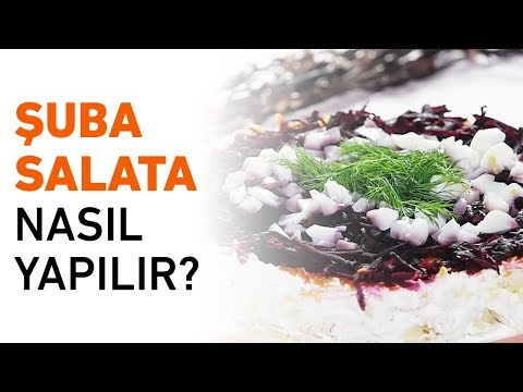 Şuba Salatası Tarifi | Şuba Salata Nasıl Yapılır?