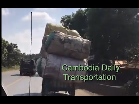 Cambodia  Daily Transportation And Transporting