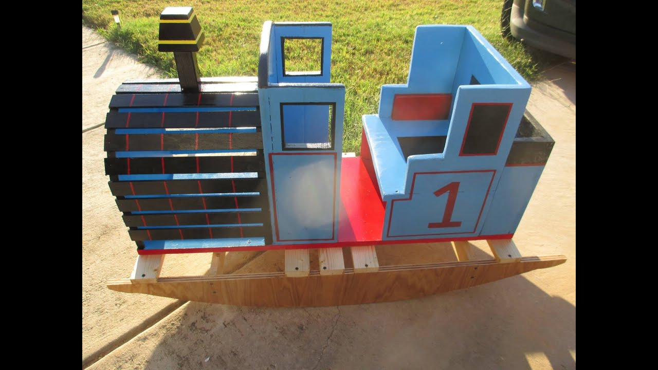 How to build a thomas the train wooden rocker on diy with chris how to build a thomas the train wooden rocker on diy with chris solutioingenieria Choice Image