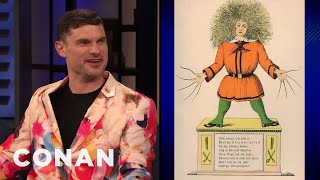 Flula Borg: German Cartoons Are Terrifying - CONAN on TBS