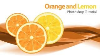 Make Orange and Lemon, Photoshop Tutorial