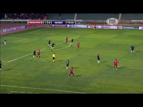 Universitario de Sucre 2 - 0 Deportes Iquique Copa Sudamericana 2014