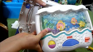 How to Add Water to Fix Low Level in Ocean Wonder Aquarium Soother from Fisher Price