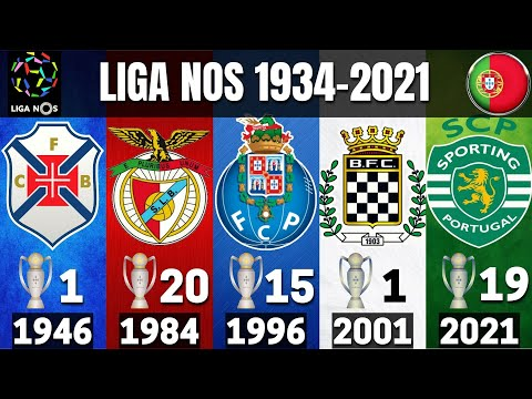 LIGA NOS • PORTUGAL • ALL WINNERS 1934 - 2021 | SPORTING CP 2021 CHAMPION