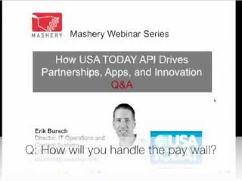 How USA Today's API Drives B2B Partnerships, Apps and Innovation