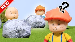 ★NEW★ Hide and Seek - Caillou Funny Animated cartoons | Caillou Stop Motion