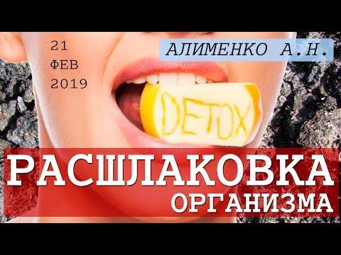 Свертываемость крови и Расшлаковка организма. Алименко А.Н. (20.02.2019)