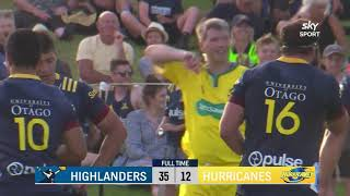 PRESEASON 2021: Highlanders vs Hurricanes