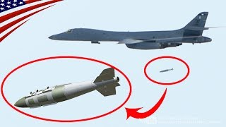 米空軍B-1B爆撃機が北朝鮮のミサイル発射台への攻撃訓練を実施